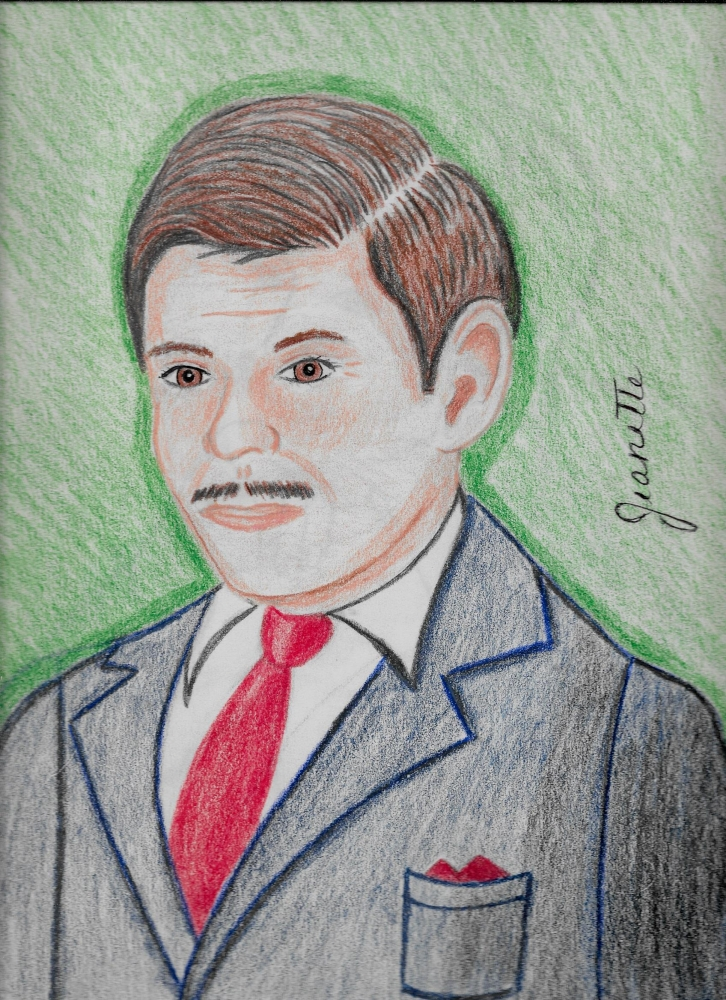 Clark Gable by Jeanette